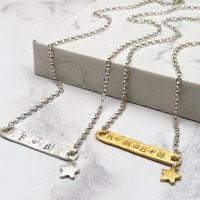 Personalised Family Equation Necklace