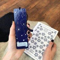 Personalised Auntie Design Starry Sky Metal Bookmark