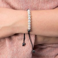 Mini Crystal Bracelet Choker And Necklace, Gold/Red/Grey