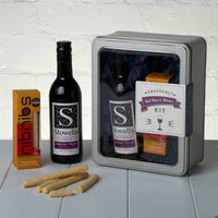 Emergency Red Wine And Nibbles Kit