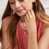 Girl's First Diamond Love Bracelet