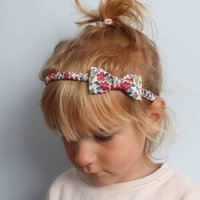 Liberty London Childs Bow Headband