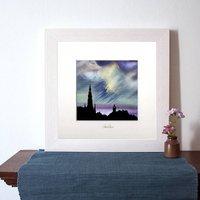 Edinburgh Nights Sky Art Print