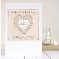 Personalised Couples Initials Wedding Card