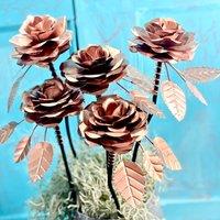 Copper Rose Bouquet