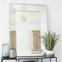 Luxe Silver Glass Mirror