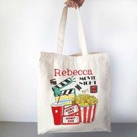 Personalised Movie Night Bag