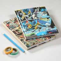 Superhero Comic Book Notebook Journal For Him