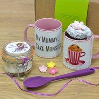 My Mummy Cake Monster Chocolate Mug Cake Gift Set