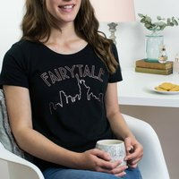 Fairytale Over New York Rose Gold Christmas T Shirt