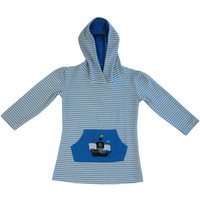 Pirate Towelling Hooded Top