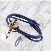 9ct Gold Infinity Clasp Bracelet, Gold
