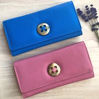 Womens Bright Leather Purses