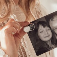 Personalised Sterling Silver Engraved Photo Locket, Silver