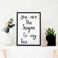 Sugar And Tea Print