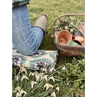 Turquoise Dahlia Garden Kneeler