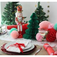 Nutcracker Noel Festive Christmas Tablescape