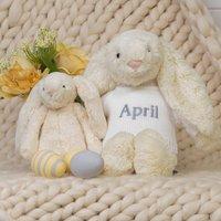 Personalised Buttermilk Bashful Bunny Soft Toy