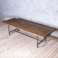 Severn Oak Pipe Legs Table