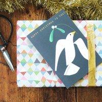 Christmas Dove Card