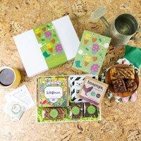 Gardening Vegan Wildflowers, Treats And Coffee Gift