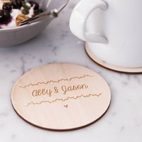 Personalised Names Coasters