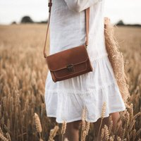 The Amber Cross Body Leather Bag