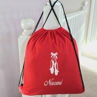 Personalised Drawstring School Bag