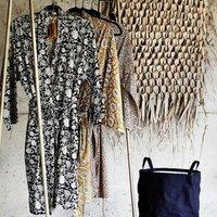 Printed Kimono Dressing Gown