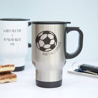 Football Travel Mug Gift For Dads