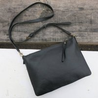 Fair Trade Vegan Faux Leather Cross Body Clutch Purses