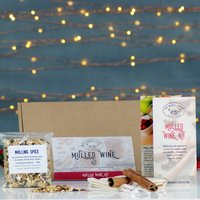 Christmas Mulled Wine, Cider And Cocktail Gift Box