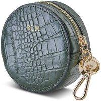 Personalised Mini Circle Croc Coin Purse
