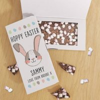 Easter Bunny Rocky Road Chocolate Letterbox Gift