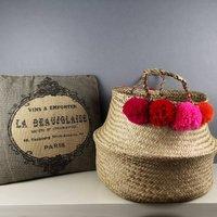 Versatile Pinks And Blues Basket