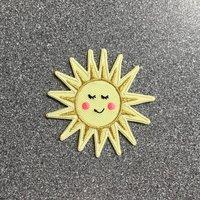 Sunshine Iron On Patch