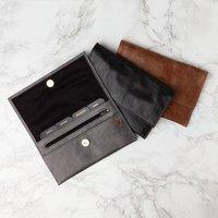 Luxury Leather Travel Organiser