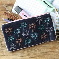 Savannah Palm Tree Pencil Case