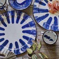 Libbi Enamel Serving Platter
