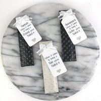 Personalised Crystal Glass Nail File In Hand Made Pouch