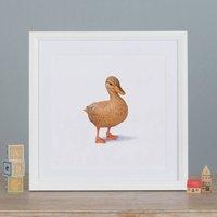 Illustrated Duck Print