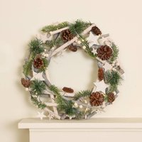 Starry Night LED Christmas Wreath