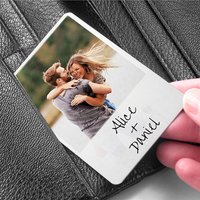 Capture A Moment Metal Wallet Keepsake