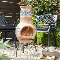 Terracotta Clay Chiminea