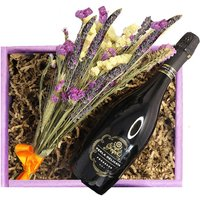 Thank You; Flowers And Wine Hamper
