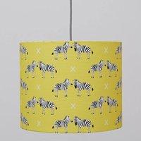 A Handmade Zebras Lamp Shade