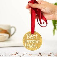 'Best Person Ever' Chocolate Gold Medal