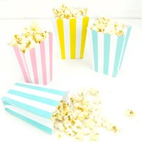 Popcorn Party Boxes, Red/Yellow Orange/Yellow