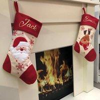 Santa Or Reindeer Personalised Stocking
