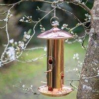 Copper Bird Feeder